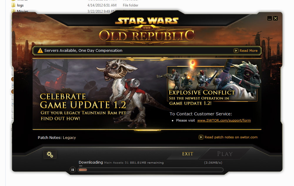 How I fixed SWTOR launcher not opening and \u201conly a single instance